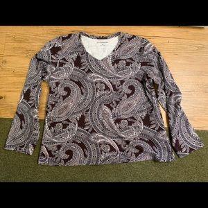 Croft & Barrow V-neck Shirt!